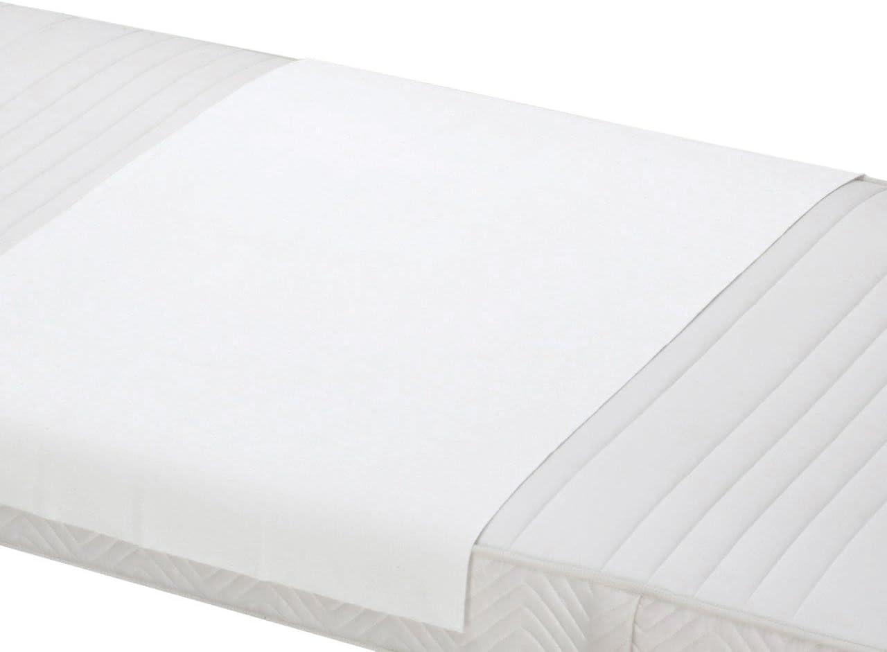 ZOLLNER 2 empapadores Reutilizables, Protector de colchón 50x70 cm Otras Medidas
