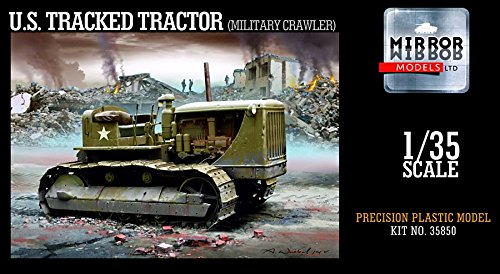 [MRM35850 1:35 Mirror Models US Tracked Tractor (Military Crawler) [MODEL BUILDING KIT]] (Tracked Tractor)