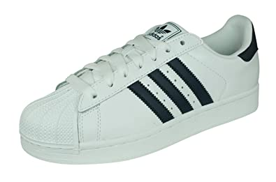 adidas Originals Men's Superstar Sneakers White US11.5