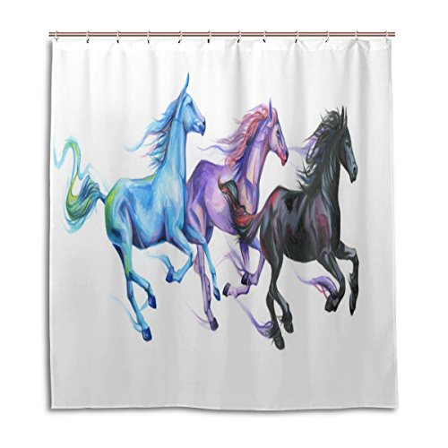 scds-horse-pentium-shower-curtain-waterproof-mouldproof-thickening-extra-long-48x72in