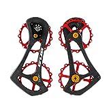 GUB R6000 17T Bicycle Rear Derailleur Pulleys Wheel Bike Carbon Fiber Jockey Wheel for Shimano 5800/5700/4600/4700/105/Tiagra System