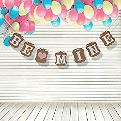 Be Mine Banner - Valentine's Day decorations - Valentine Garlands - Valentines photo props
