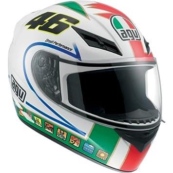AGV K3 Rossi Icon – Casco de motorista blanco/verde/rojo 2 X L XXL
