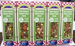 Dos Amigos Green Chili Stew - 5 Boxes