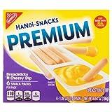kraft cheese sticks - Kraft Handi-Snacks Ritz (Premium Breadsticks 'n Cheese Dip Snack Packs, 6 ct 1.09 oz Pack of 4)