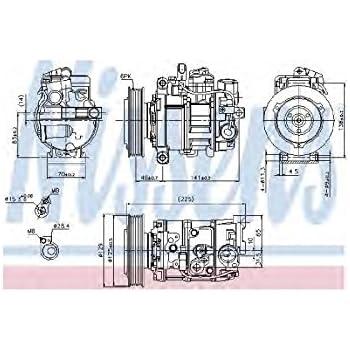 Nissens A/c Compressor 89209