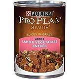 Purina Pro Plan Gravy Wet Dog Food; SAVOR Lamb & Vegetables Entree - 13 oz. Can