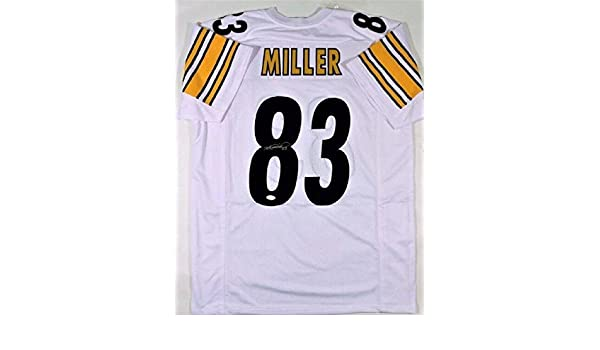 dde48669d Signed Heath Miller Jersey - 2X Super Bowl Champ - JSA Certified - Autographed  NFL Jerseys at Amazon s Sports Collectibles Store
