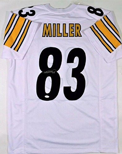 brand new 5ca90 c4bb7 Signed Heath Miller Jersey - 2X Super Bowl Champ - JSA ...