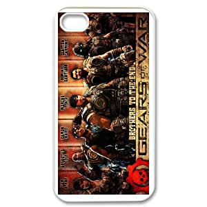 IPhone 4,4S Phone Case for Gears of War pattern design GQ05GW84728