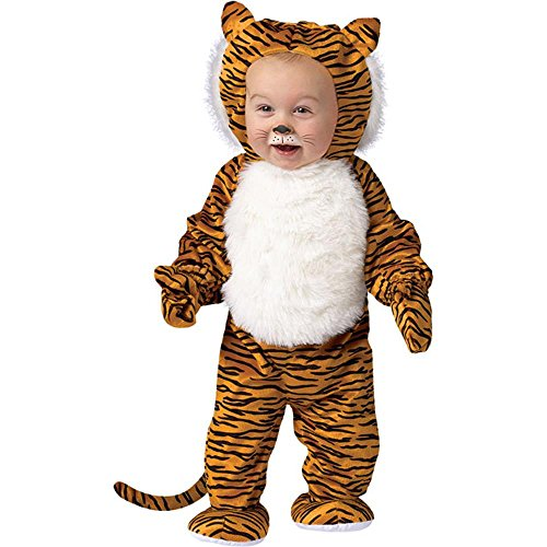 Toddler Cute Tiger Halloween Animal Costume (24M) - Toddler Tiger Costume Cuddly