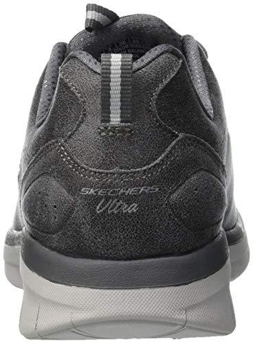 charcoal Para Gris Charcoal Zapatillas 2 Skechers Synergy 0 Mujer qxwzawT