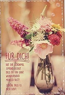 Grußkarte Liebe Und Freundschaft; Für Dich! Schön, Dass Es Dich Gibt