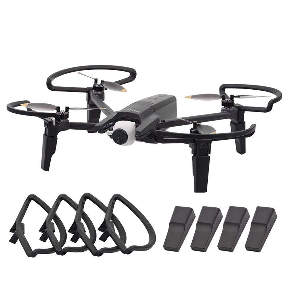 Traceur pour Perroquet Anafi Drone Quadcopter Accessoires Bescita Propeller Guard Protector