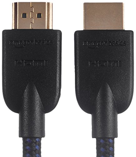 AmazonBasics Braided 4K HDMI to HDMI Cable - 15-Foot