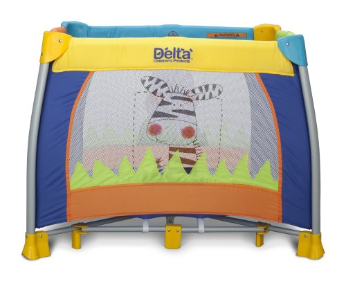 Delta Children 36'' x 36'' Play Yard, Fun Time by Delta Children (Image #1)