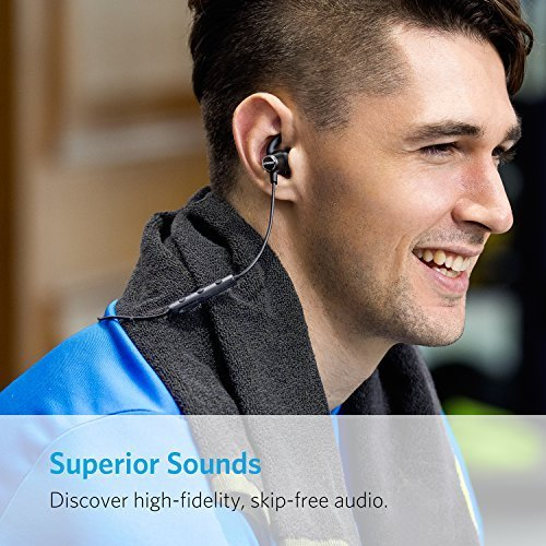 Anker SoundBuds Slim Wireless Headphones, Bluetooth