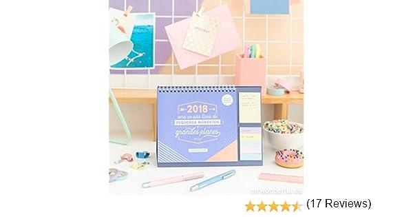 Mr. Wonderful WOA08663ESOHM - Calendario 2018 de sobremesa: Amazon ...