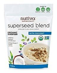 Nutiva Organic Superseed Blend, Coconut,...