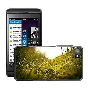 Super Stellar Slim PC Hard Case Cover Skin Armor Shell Protection // M00050735 macro grass aero // BlackBerry Z10