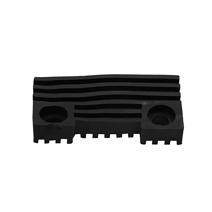 Sourcingmap Black Rubber Motorcycle Scooter Oil Fuel Tank Cushion Pad Kit