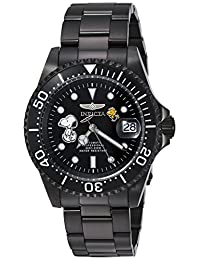 Invicta Men's Automatic Stainless Steel Casual Watch, Color:Black (Model: 24787)