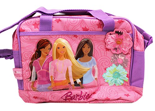 Barbie and Friends Pink/Lavender Girls Insulated Lunch Bag