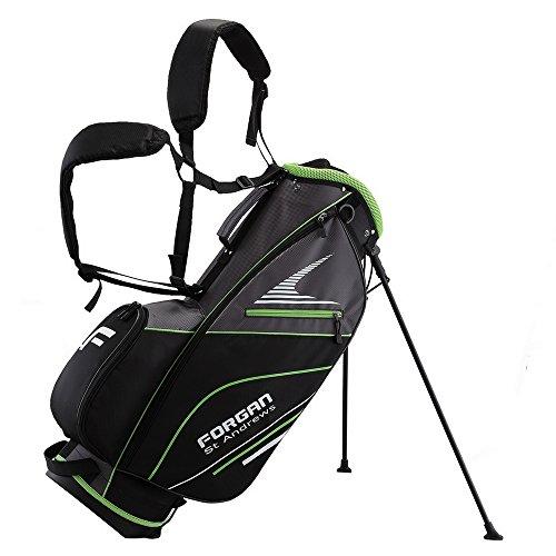 9a959f8ce Forgan of St Andrews Super Lightweight Golf Stand Carry Bag Green
