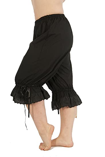Steampunk Women's Pants, Leggings & Bloomers Steampunk Cotton Bloomers $40.00 AT vintagedancer.com