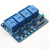 SunFounder 4 Channel 5V Relay Shield Module for Arduino UNO 2560 1280 ARM PIC AVR STM32
