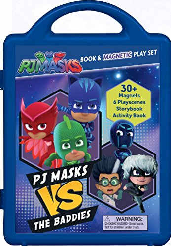 PJ Masks: PJ Masks Vs the Baddies (Magnetic Playset) (The Mask Best Scenes)