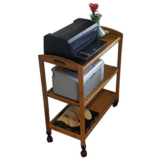 Soporte de impresora estante de múltiples tiendas móvil estante de ...