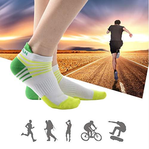 De Et Running Meikan Pour Multicolor02 Femme Chaussettes Chaussette Sport Course homme Paires 5 5wnfBqRH