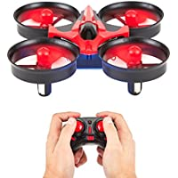 Quadcopter 6-Axis Gyro Mini Drone by DPM Gear - Your First Flying RC Drone with LED Lights & 360° Flip Over, Headless Mode, One Key Return, Easy Remote Control – Gift Box, Ideal Drone for Beginners