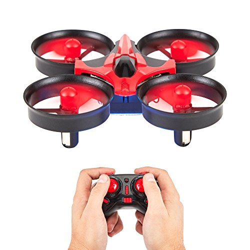 Quadcopter 6-Axis Gyro Mini Drone by DPM Gear - Your First Flying RC Drone with LED Lights & 360° Flip Over, Headless Mode, One Key Return, Easy Remote Control – - Return Easy