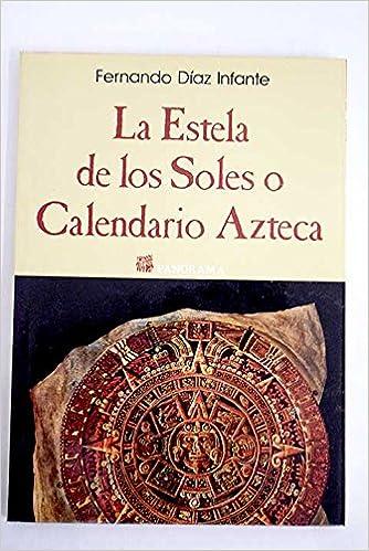 Panorama Calendario.La Estela De Los Soles O Calendario Azteca Panorama Spanish