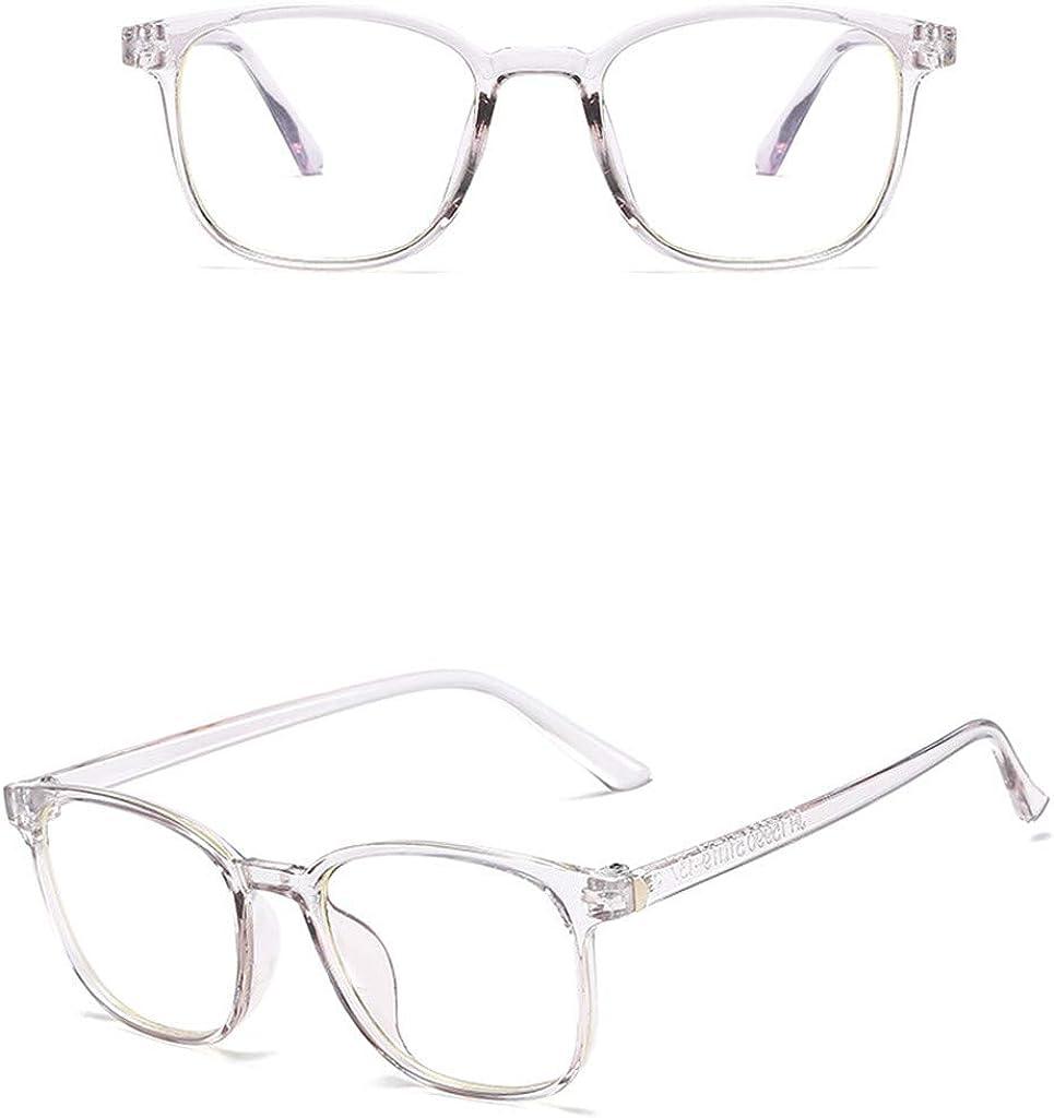 charts/_DRESS Classic Unisex Glasses Round Computer Readers Eyeglasses Frames for Prescription Lens