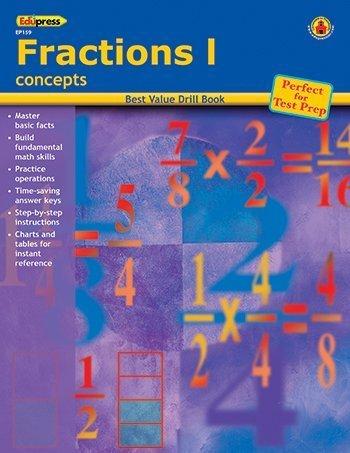 Read Online Best Value Math Drill Book, Fractions 1 ebook