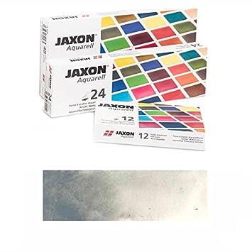 Neu Jaxon Aquarellfarbe 1 2 Napf Franzosisch Grau Amazon De