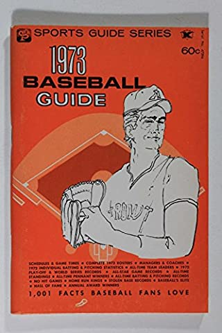 1973 BASEBALL GUIDE SPORTS GUIDE SERIES 1001 FACTS BASEBALL FANS LOVE - 1973 Baseball
