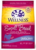 Wellness Complete Health Natural Dry Small Breed Healthy Weight Dog Food, Turkey & Rice, 12-Pound Bag For Sale