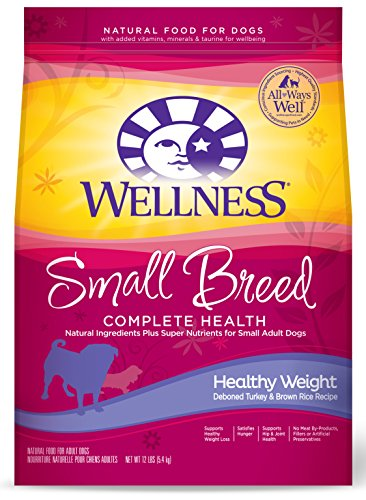 Wellness Small Breed Healthy Weight Dog Food 12lb