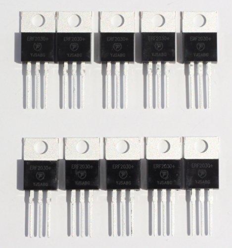 10-Pack, ERF2030+ 30 Watt PEP RF Power Mosfet Transistor in TO-220 - Rf Transistor