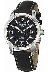 Tissot Men's T0144101605700 PRC 200 Black Dial Watch