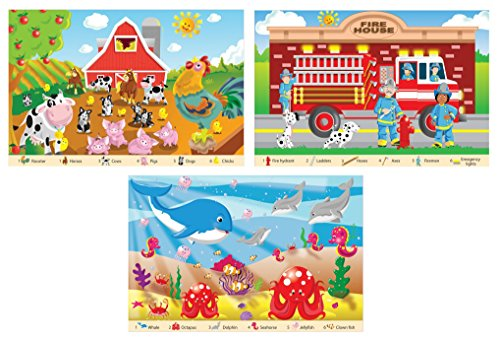 White Mountain Puzzles Kids Seek and Find Puzzle