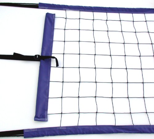 Home Court PNR Volleyball Top/Bottom Power Net Rope, Blue
