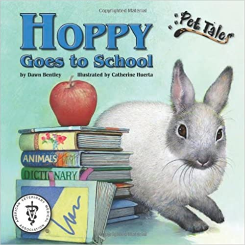 Hoppy Goes to School - A Pet Tales Story (with audiobook CD)