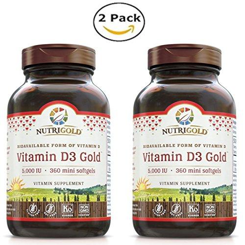 Nutrigold Vitamin GMO free Preservative free Soy free product image
