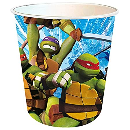 Papelera Tortugas Ninja 20cm: Amazon.es: Hogar