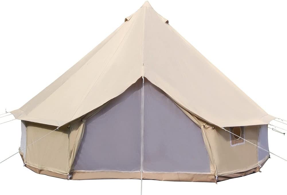 Dream House Luxury Outdoor Cotton Canvas Tent Review
